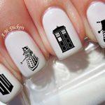 water nail art